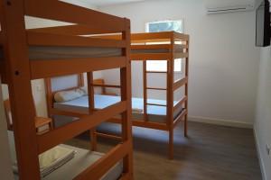Chambre dortoir 4 places